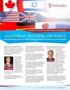 Concordia Newsletter